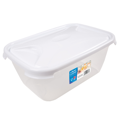 Rectangular Food Storage Box With Lid - Size: 6l