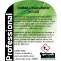 Labels For Endbac Liquid Cleaner Sanitiser 40935 For Spray Bottles x 6