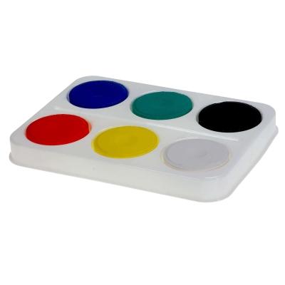 Colour Blocks Standard Assorted Colours x 6 in Palette