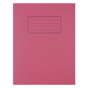 "Exercise Book 9x7"" 80 Page Red 40 Pack"