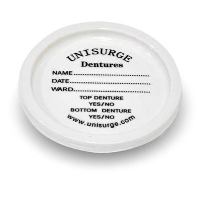 Denture Pot Lids 100 Pk