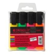Highlighter Pens Assorted 4 Pack