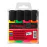 Highlighter Pens Assorted 4 Pack