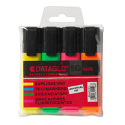Highlighter Pens Assorted 4pk