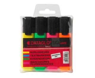 Highlighter Pens Assorted 4pk