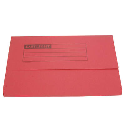 Document Wallet A4 - Colour: Red