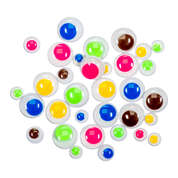 Gompels Wiggly Eyes Assorted Colours 1000 Pack