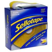 Sellotape Hook and Loop Strip 20mm x 6m