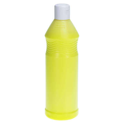 Ready Mixed Fluorescent Poster Paint 600ml - Colour: Yellow