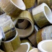 Natural Bamboo Circles 500g