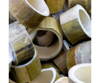 Natural Bamboo Circles 500g