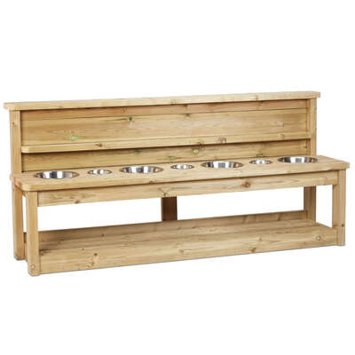 Wooden Potion Bench Large
