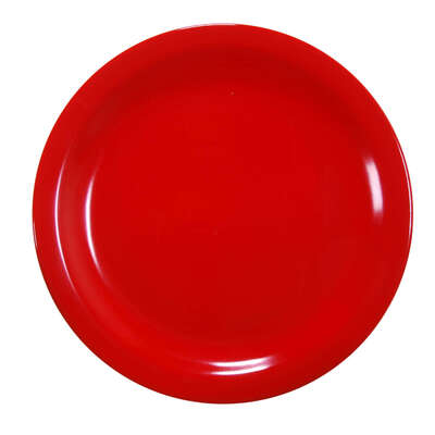 "Swixz Melamine Side Plate 6.25"" / 160mm 12 Pack - Colour: Red"