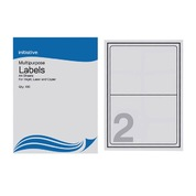 Multi Purpose Labels 199.6 x 143.5mm 2 Sheet 100pk