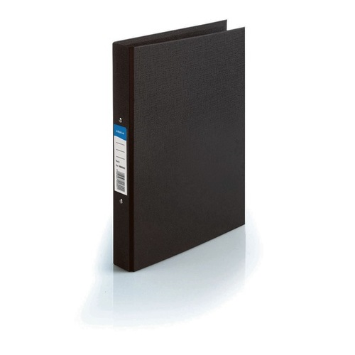 A4 Ring Binder Black Plastic Gompels Healthcare