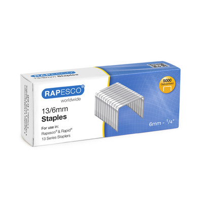Tacker Staples 13/6mm Box 5000