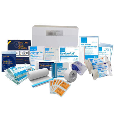 First Aid Kit Small Refill BS 8599-1