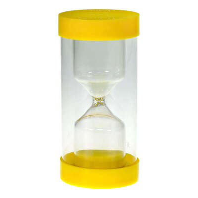 Sand Timers - Colour: Yellow 3 Min