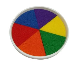 Giant Rainbow Ink Pad