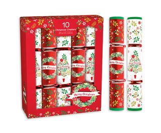 "Christmas Crackers 12"" Pack 10"
