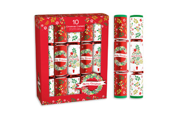 Christmas Crackers.Christmas Crackers 12 Pack 10