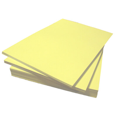 A4 Coloured Paper 80gsm 500 Sheets - Colour: Canary