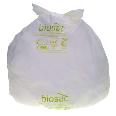 Compostable Bin Bags 40l Roll 25