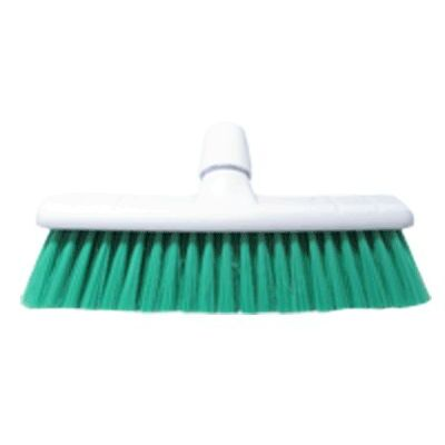 "Soft Sweeping Broom Head 12"" - Colour: Green"