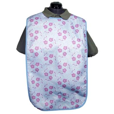 Adult Bibs - Colour: Blue / Floral