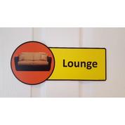 Premium Lounge Sign