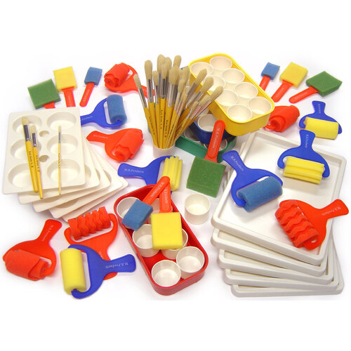 Early years painting pack in arts crafts painting for Arts and crafts supplies wholesale
