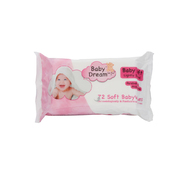 Baby Dream Thick Baby Wipes 72