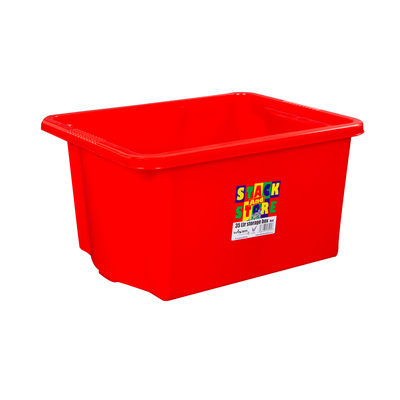 35l Stack N Store Box - Colour: Red