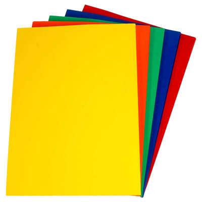 Assorted Colour Card A4 180gsm 100 Pack