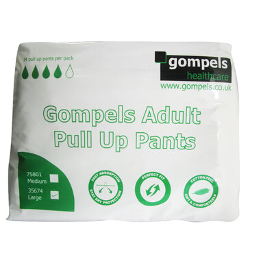 Gompels Adult Pull Up Large 14