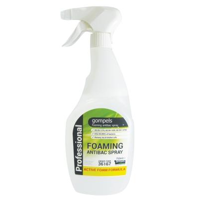 Gompels Foaming Antibacterial Cleansing Spray 750ml x 6