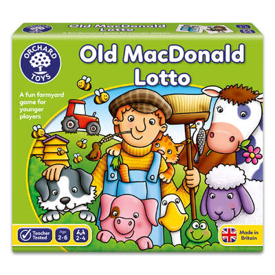 Old Macdonald Lotto Matching Game