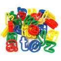 Plastic Dough Cutters Lower Case Alphabet Pack 26