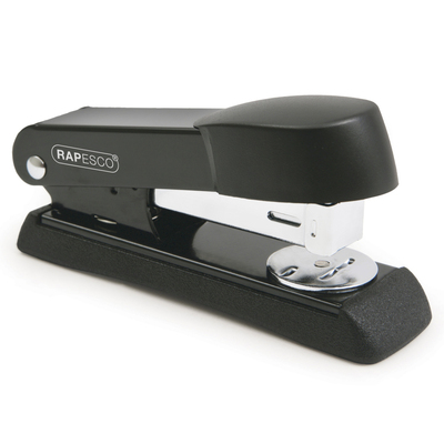 Metal Half Strip Stapler Black