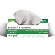 Soclean Wave Facial Tissue 2ply 100 x 36