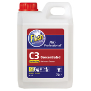 Flash Professional C3 Disinfecting Bathroom Cleaner 2 Litre