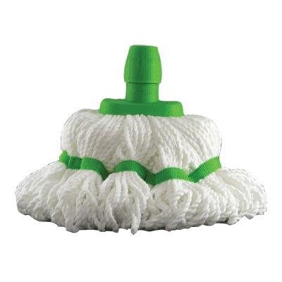Soclean Microfibre Mop Head - Colour: Green