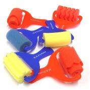 Foam Rollers Set of 6 Assorted Designs