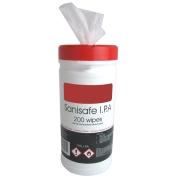 Bactericidal Surface Wipes 200 Pk