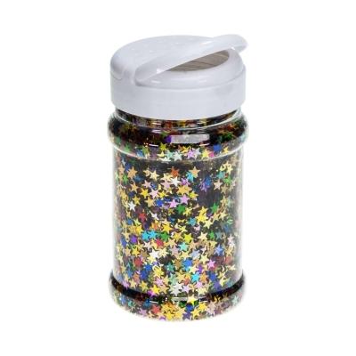 Glitter Stars Multi Colours Shaker 150g