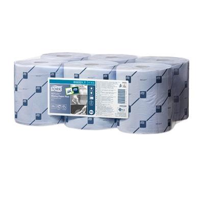 Tork Reflex Wiping Paper Blue Plus 2ply x 6 M4