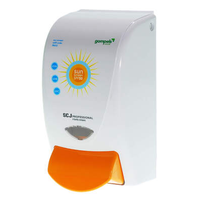 Gompels Suncream Dispenser 1l