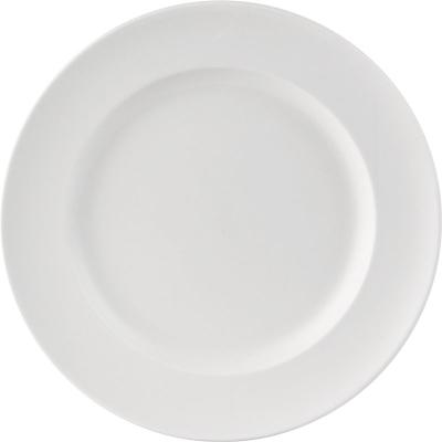 """Dinner Plate White 10"""" / 25.5cm 6 Pack"""