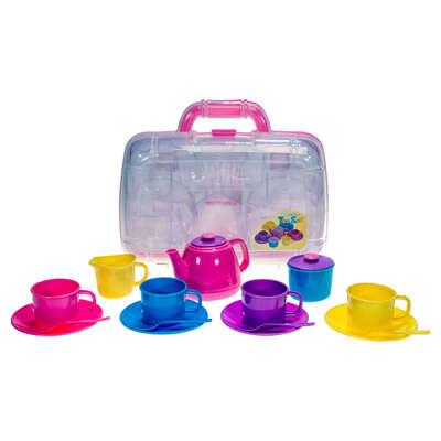 Tea Party Set With Carry Case