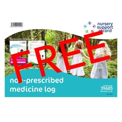 Non-Prescribed Medicine Log A4